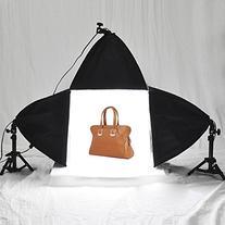 """AW Table Top 16""""x16"""" Photo Studio Shooting Tent+3 Lighting"""