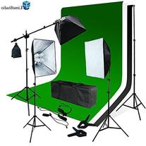 LimoStudio Photo Video Studio Four Light Head Continuous