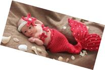 Amariver Photography Prop Mermaid Cute Crochet Knitted Baby