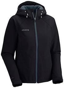 Columbia Women's Phurtec II Softshell Jacket, Black, Medium