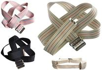 MABUA Physical Therapy Gait Belt with Metal Buckle -1 Loop