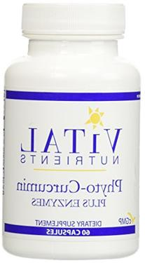 Vital Nutrients - Phyto-Curcumin Plus Enzymes - Helps