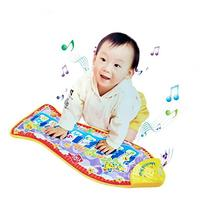 Kids Piano Musical Touch Play Crawl Mat Baby Fun Animal Game