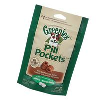 Pill Pockets Peanut Butter Dog Treat Size: 3.2 OZ