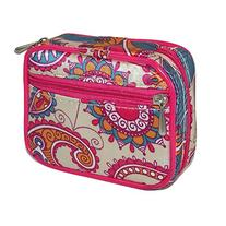 CTM Womens Pill and Vitamin Organizer Travel Pouch with