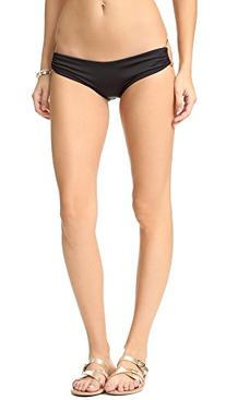 Vitamin A Women's Pin Up Star Bikini Bottoms, Black, Small
