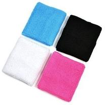 4 pair of COSMOS ® Pink/Black/White/Light Blue cotton