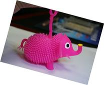 Domire Pink Cartoon Color Flash Ball Elephant Chuzzle Deluxe