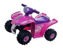 Lil' Rider Pink Princess Mini Quad Ride-on Car Four Wheeler