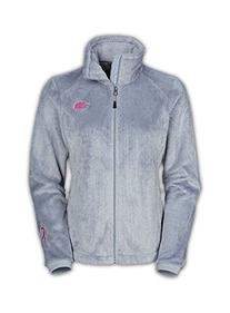 The North Face Pink Ribbon Osito 2 Jacket Women's High Rise