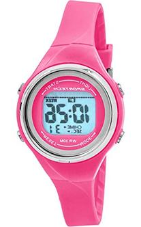 Sportech Women's | Pink Thin Band Water Resistant Swim Sport