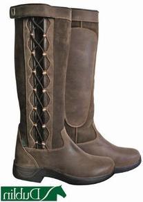 Dublin Ladies Pinnacle Boots 9 Chocolate