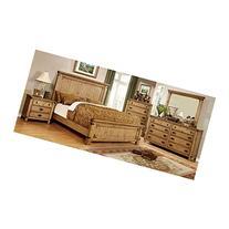 247SHOPATHOME IDF-7449EK-6PC Bedroom-Furniture-Sets, King,