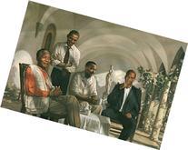 THE PIONEERS POSTER Mandela - Malcolm X - Obama - Martin