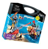 Playmobil Pirates 5894 Pirate Carry Case by Playmobil