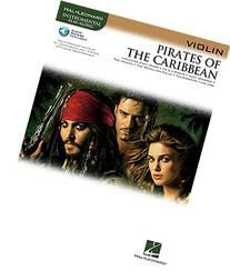 PIRATES OF THE CARIBBEAN FOR VIOLIN INSTRUMENTAL PLAY-