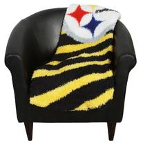 NFL Pittsburgh Steelers 50-Inch-by-60-Inch Sherpa on Sherpa