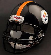 NFL Pittsburgh Steelers Deluxe Replica Football Helmet