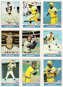Pittsburgh Pirates 1979 Topps Baseball Team Set