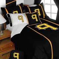 MLB Pittsburgh Pirates Full Bedding Set Baseball Logo Bed