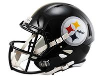 NFL Pittsburgh Steelers Riddell Full Size Replica Speed Helmet, Medium, Yellow