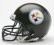 Pittsburgh Steelers NFL Replica Mini Helmet With Z2b Face