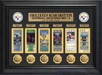 NFL Pittsburgh Steelers Super Bowl Ticket and Game Coin