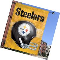 "Pittsburgh Steelers 27"" x 37"" Throwback Helmet Vertical"
