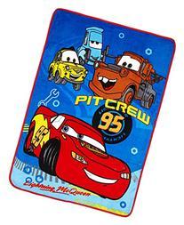 Disney Pixar Cars Plush Toddler Blanket