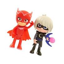 PJ Masks 2 Pack Figures: Owlette and Luna Girl
