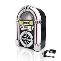 Pyle-Home Bluetooth Jukebox MP3 Speaker System, AM/FM Radio