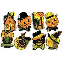 "Beistle 01009 Packaged Halloween Cutouts, 8.5"" - 9.25"", 4"