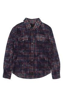 Boy's True Religion Brand Jeans Plaid Western Shirt, Size L