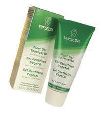 Weleda Plant Gel Toothpaste for Sensitive Gums-2.5 oz