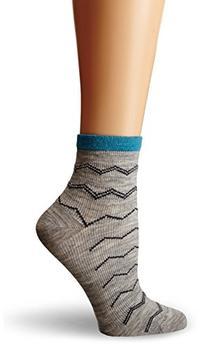 Sockwell Women's Plantar Ease Firm Compression Socks, Grey,