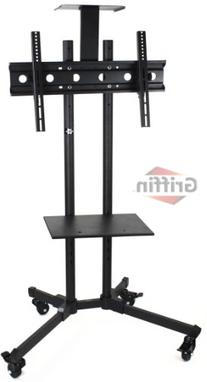 LCD TV Cart by Fat Toad | Rolling Flat Panel Screen Stand