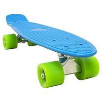 Love Fly Plastic Cruiser Penny Size Skateboard 22 Inch