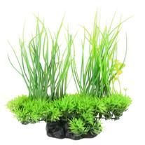Jardin Plastic Emulational Decorative Long Leaf Plant for