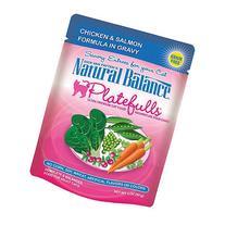Natural Balance Indoor Platefuls Chicken/Salmon Cat Pouch, 3