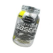 MuscleTech Platinum Pure 100% Casein Supplement, Vanilla Ice
