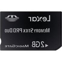 Lexar 2GB Platinum II Memory Stick PRO Duo  MSDP2GB-40-664