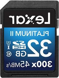Lexar Platinum II 300x SDHC 32GB UHS-I/U1  Flash Memory Card