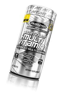 MuscleTech Platinum Multi-Vitamin, Advanced Multi-Vitamin