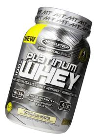 MuscleTech Platinum 100% Whey Protein Powder,  Vanilla Cake