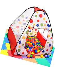Babrit Play Tent Colorful Unisex Ideal Birthday Gift Pool