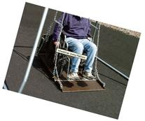 Sport Play 382-408 Wheelchair Swing Platform - Adult