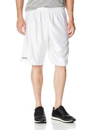 ASICS Men's Player 10 Shorts, White, X-Large