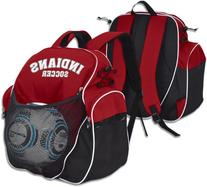 """Champro Player's Pack, Scarlet, 9"""" x 18"""" x 18"""