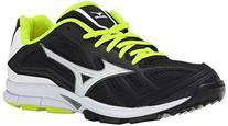 Mizuno Women's Players Training Shoe, Black/White, 7 M US