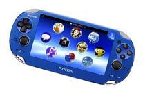 New Playstation Vita Console 3g/wi-fi Sapphire Blue Pch-1100